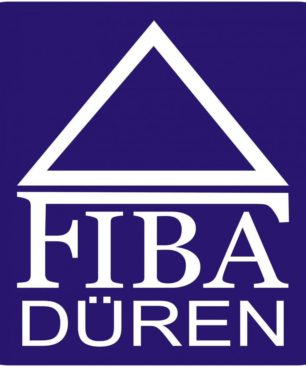 Fiba Logo blau